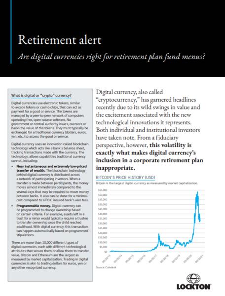 Retirement - Digital Currency