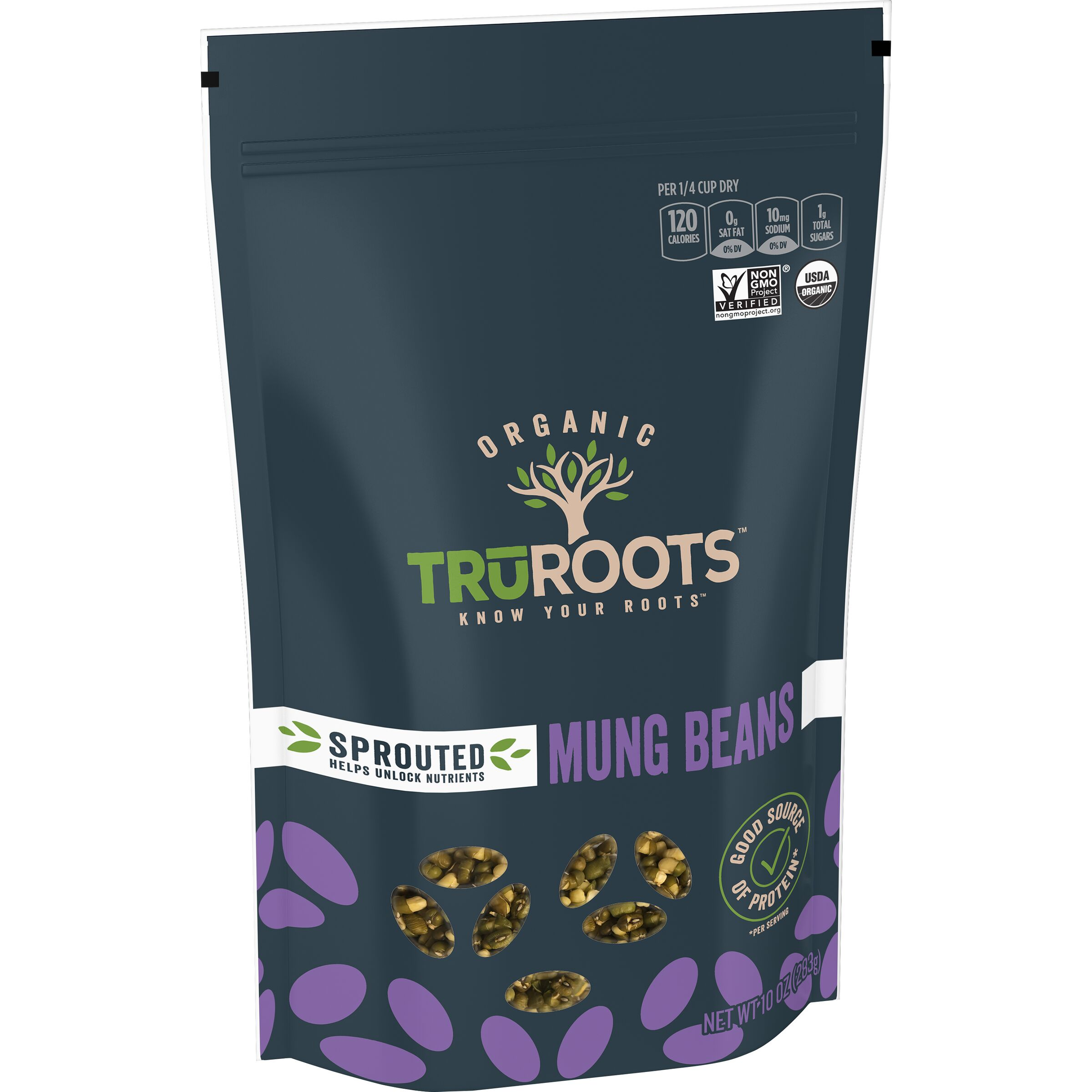 truRoots ORIGINALS Organic Sprouted Mung Beans